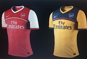 Rumoured look of next season's kit